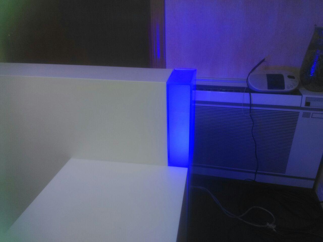 cabezales de habitación con iluminación led